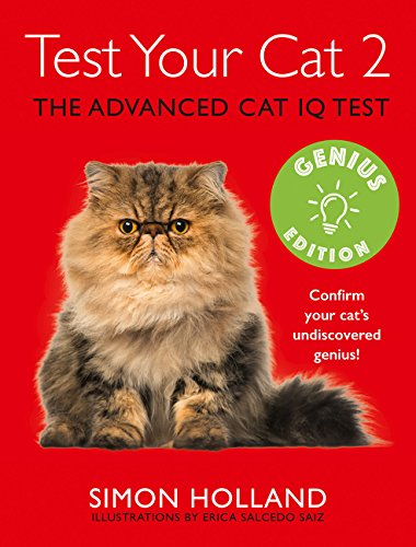 Test Your Cat 2: Genius Edition: Confirm your cat's undiscovered genius! por Simon Holland