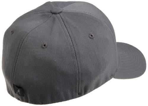 kangol - Casquette de Baseball Homme - Wool Flexfit Baseball Gris (Dark Flannel)