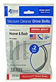 4 YOUR HOME PPP126OQ VACUUM BELTS PACK OF 2 HOOVER [Pack Size: 6] (Epitome Certified)