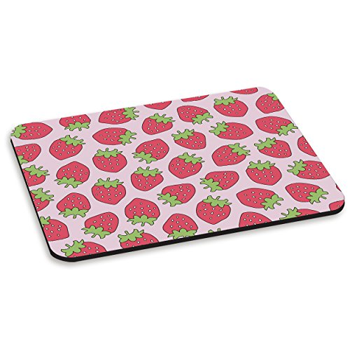 pink-strawberry-pc-computer-mouse-mat-pad
