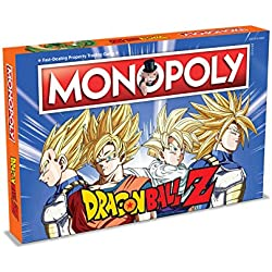 Winning Moves 2565 DRAGON BALL Z Monopoly Juego de mesa