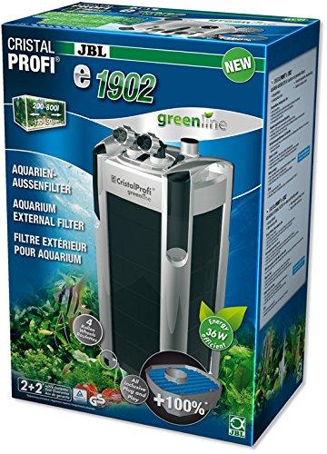 CristalProfi e1902 greenline Außenfilter für Aquarien von 200 - 800 Litern
