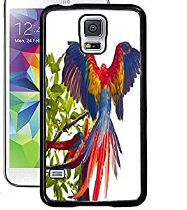 ColourCraft Beautiful Parrot Design Back Case Cover for SAMSUNG GALAXY S5