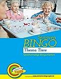 Senioren Bingo Tiere: Bingo-Vorlagen zur Seniorenbeschäftigung (Senioren-Bingo-Spiel.de, Band 1)