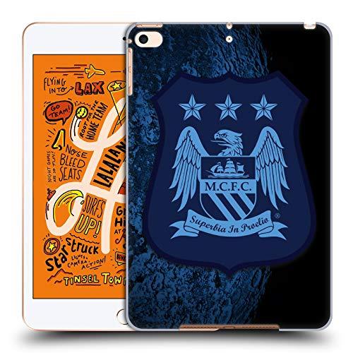 Head Case Designs Offizielle Manchester City Man City FC Away Kit Mono Kit Crest Harte Rueckseiten Huelle kompatibel mit iPad Mini (2019) -