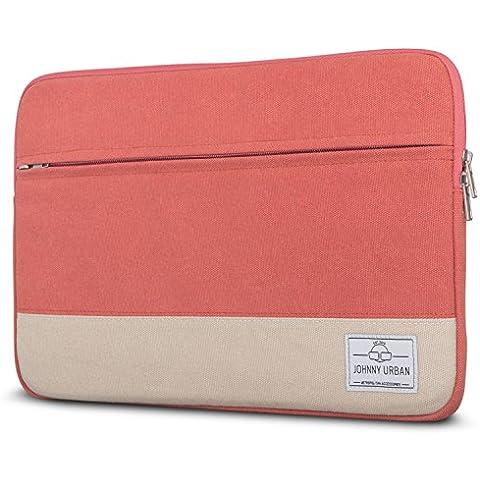 Funda portátil 11 - 12 pulgadas Johnny Urban de lona en Rojo - Bolso para MacBook Air 11.6