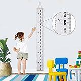 Jeteven Toise Enfant Murale Hauteur Mesure Suspendu Graphique Croissance Bébé sur Toile Décoration Chambre 20 x 200cm