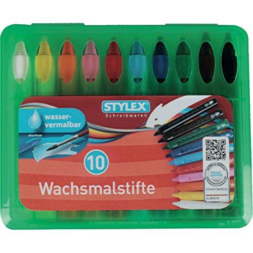 Wachsmalstiftetui wasserl. Box