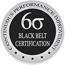 Learn Lean Six Sigma Black Belt The Easy Way Finally, Certification & Training Course, Get Trained & Certified Now Finally