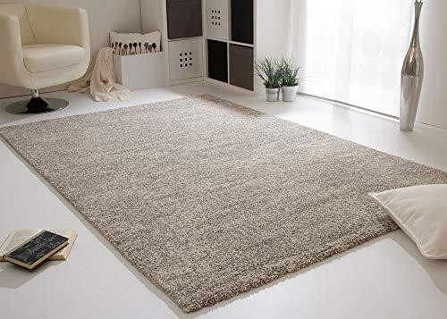 Steffensmeier Wohnzimmer Teppich Contemporary Comfort | Qualitätsteppich aus Europa in Creme Grau meliert, Größe: 240x340 cm