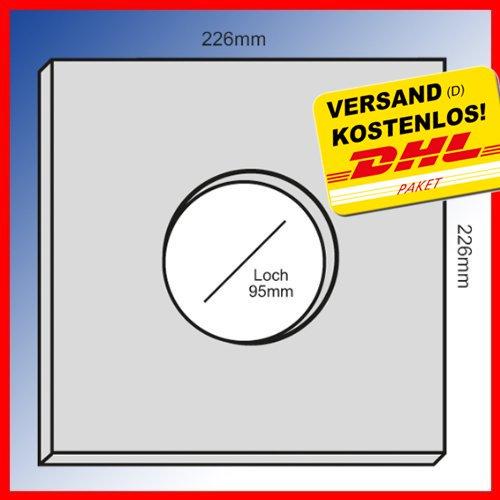 5x Original - Filter - Filtereinsatz LIMODOR F LF ELF - Limot Lüfter 226x226mm - Ersatzfilter - Art.-Nr.: 00010 Test