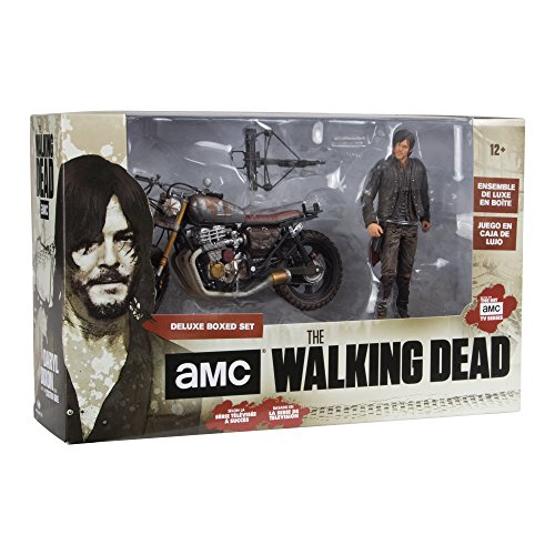 Image of Walking Dead TV - Daryl Dixon with Bike New Sculpt