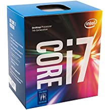 Intel Core i7-7700 - Procesador con tecnología Kaby Lake (Socket LGA1151, Frecuencia 3.6 GHz, Turbo 4.2 GHz, 4 Núcleos, 8 Subprocesos, Intel HD Graphics 630)