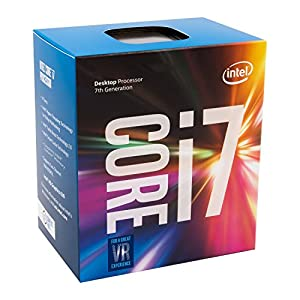 Intel Core i7-7700 Prozessor der 7. Generation (bis zu 4.20 GHz mit Intel Turbo-Boost-Technik 2.0, 8 MB Intel Smart-Cache)