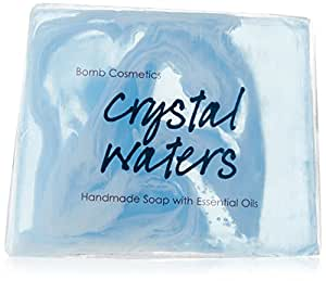 Bomb Cosmetics Crystal Waters Soap Slice 100g