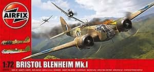 Airfix 1: 72 Scale Bristol Blenheim MKI Bomber Model Kit by Hornby Hobbies Ltd