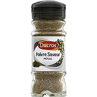Ducros Poivre gris, épices moulus, opercule fraîcheur Le flacon de 40g - Prix Unitaire - Livraison Gratuit Sous...