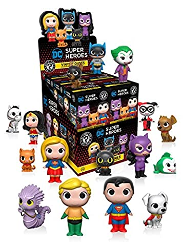 Funko - Figurine - DC Heroes & Pets Mystery Minis - 1 boîte au hasard / one Random box - 0889698113465