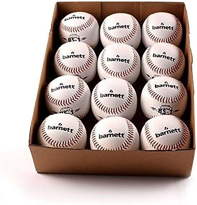Entrenamiento BS-1pelota de baseball, tamaño 22,86cm, blanco, 1docena