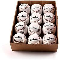 Barnett BS-1Practise Baseball Balle de baseball les débutants, Soft Touch, taille 9, Lot de 12