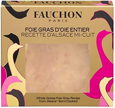 Fauchon - Foie gras d'oie entier recette d'Alsace mi-cuit