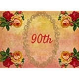 90th: Guest Book | Events | Celebration | 90th Anniversary and Birthday Gift | Message  Book |Keepsake | Memorabilia for Friends & Family to write in ... Anniversaries, 70 Formatted Pages, 8.25x6in
