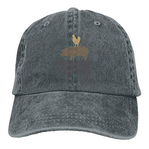 JIEKEIO Funny Baseball Caps Hats Baseball Jeans Cap Cow Pig Chicken Men Snapback Casquettes Adjustable Baseball Cap