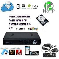 DVR NVR HVR SVR SDVR 8 CH CANALI FULL HD