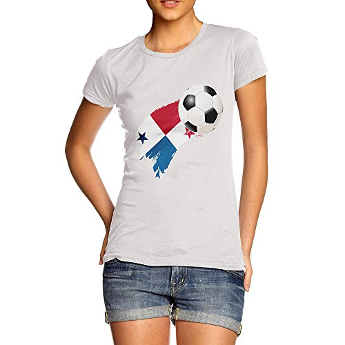 TWISTED ENVY Novelty Gifts for Women Panama Football Soccer Flag Paint Splat