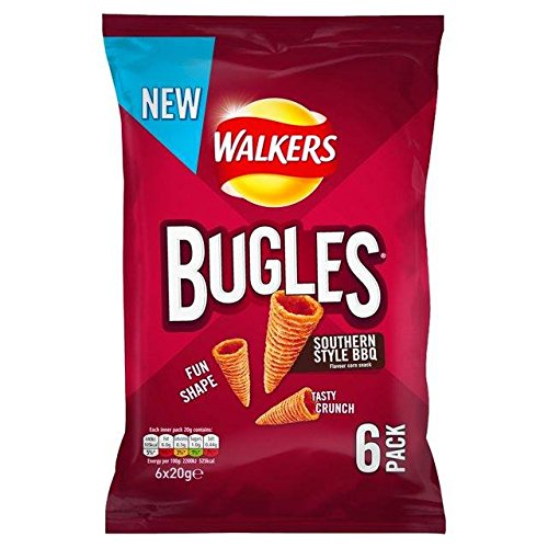 walkers-bugles-southern-style-bbq-20g-x-6-per-pack