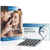 Nerasan - 600 mg - Sostiene performance durature in maniera naturale ed efficace - Per una vita di coppia piena ed appagante - 60 capsule