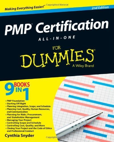 PMP Certification All-in-One For Dummies 2nd (second) by Snyder, Cynthia (2013) Paperback