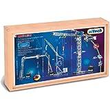 eitech 00035 - Juego de construcción de metal en caja de madera, diseño de grúas [importado de Alemania]