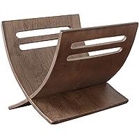 Homestyle4u 965, Zeitungsständer Modern, Braun, Holz, 30 x 29 x 36 cm