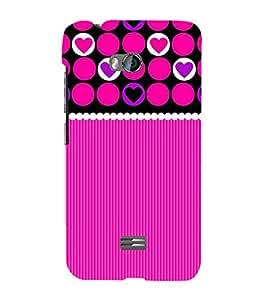 Fuson Designer Back Case Cover for Micromax Bolt Q336 ( Pink Color Wallpaper )