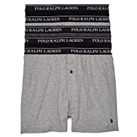 Polo Ralph Lauren Classic Fit Knit Boxer for Men - Multi Color, Pack of 5