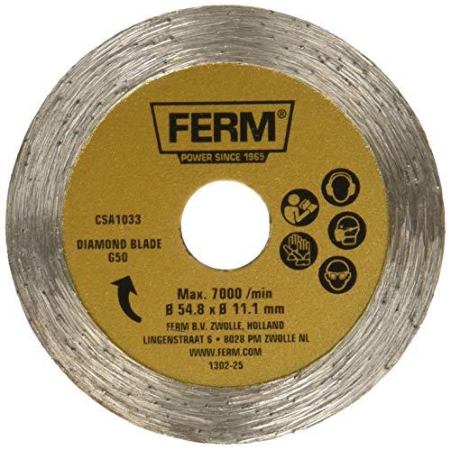 Ferm CSA 1033, Sägeblatt für Holz und Kunststoff, 44 HSS Zähnen