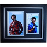 Sportagraphs Tom Selleck SIGNED 10x8 FRAMED Photo Autograph Display Magnum P.I.TV COA PERFECT GIFT