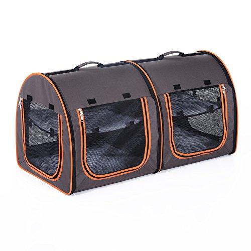 Produkt: PawHut® Faltbare Doppelbox