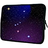"""Snoogg Orion Nebula 15"""" 15.5"""" 15.6"""" Inch Laptop Notebook Slipcase Sleeve Soft Case Carrying Case For MacBook Pro Acer Asus Dell Hp Sony Toshiba"""