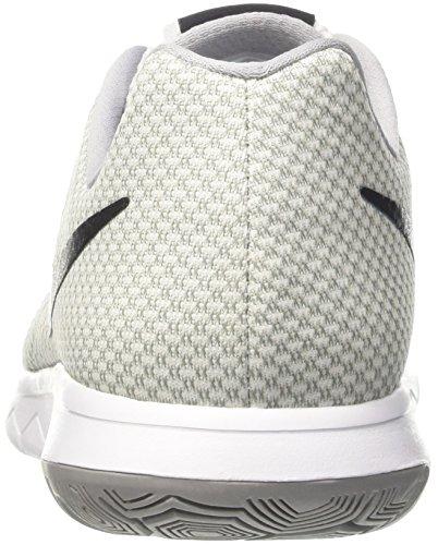 Nike Flex Experience Rn 6, Sneakers Homme, Nero / Arancione Multicolore (White/black/wolf Grey)