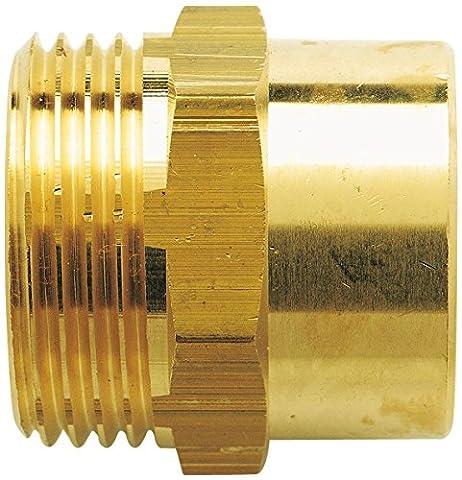 Manchon à visser mâle Raccords - Filetage 15 x 21 mm - Diamètre 18 mm - Vendu par 1