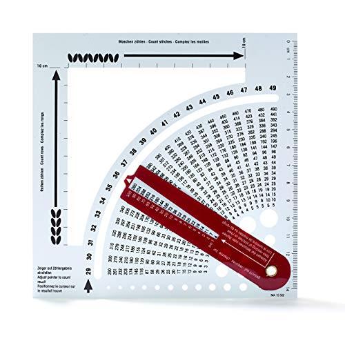 Prym Zählrahmen Kunststoff Strickrechner, weißviolett, One Size
