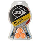 Dunlop Team 2 Player Set Table Tennis Set (2 Bats and 3 Balls) by Dunlop