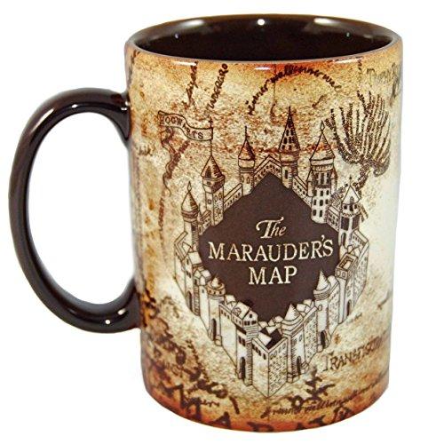 Miracolo tazze (TM)-Harry Potter Hogwarts Mappa del Malandrino magico sensibile al calore tazza di caffè in ceramica
