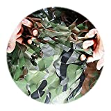 Filet de camouflage Woodland Green Chasse au filet de tir for parasol Regarder le camping Cacher Décorations de fête maisons dans les arbres Ombre Écran solaire Filet for voiture Couverture végétale C