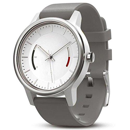 22mm Silikon Armbanduhr Ersatz, happytop Armband Armbanduhr-Band Wrist Strap für GARMIN vivomove S grau (Jugend-fußball-uhr)