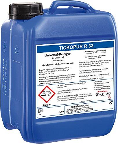 Ultraschallreiniger 5 LITER TICKOPUR R 33 - Reinigungs-Konzentrat