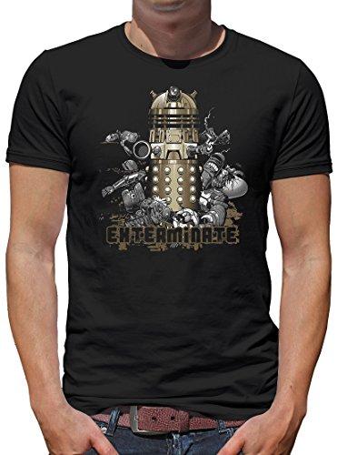 TLM Dalek T-Shirt Herren XL (Kostüme Dalek Halloween)
