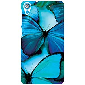 HTC Desire 820 Back Cover - Blue Soothing Designer Cases